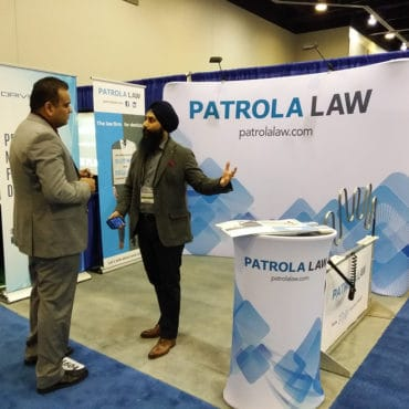 Patrola Law at Pacific Dental Conference