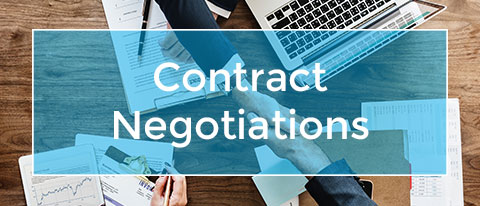 contract negotiations & review