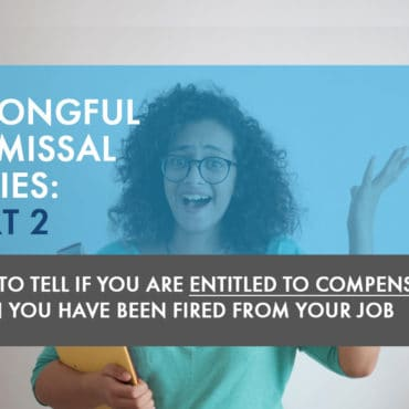 Wrongful Dismissal Series Part 2