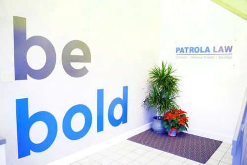 Be Bold Slogan and Signage