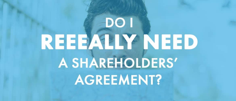Shareholders agreement header image