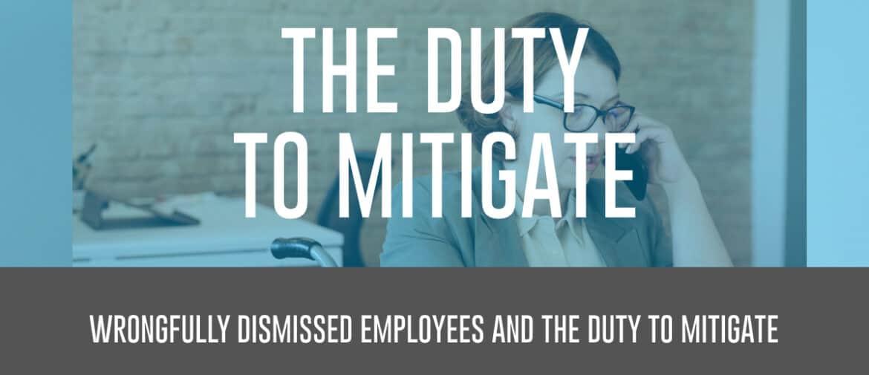 The Duty to Mitigate header