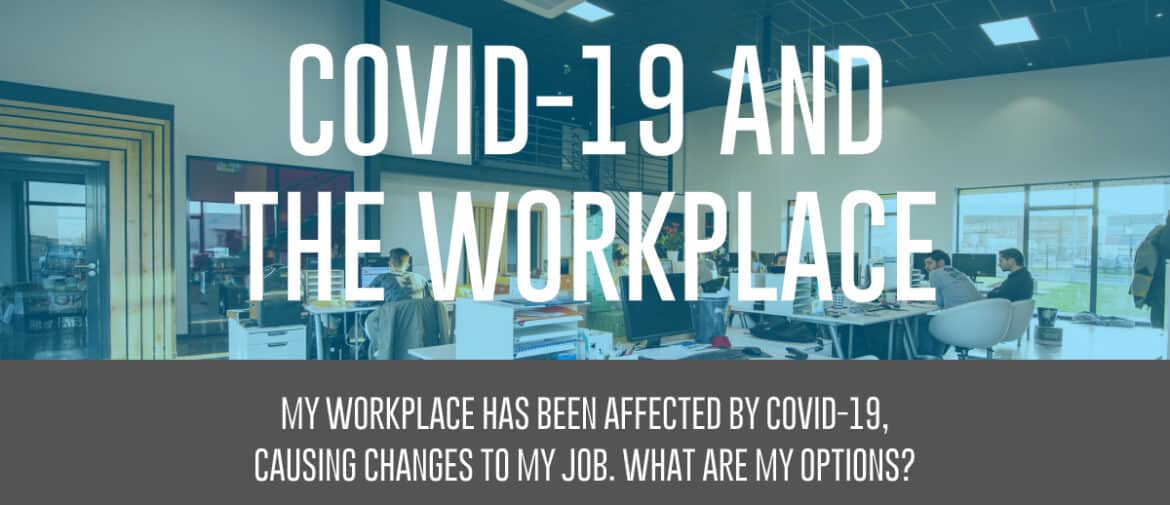 Covid-19 and the workplace