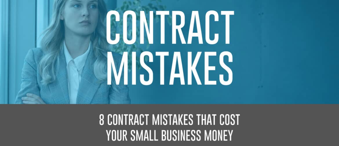 Contract mistakes featured